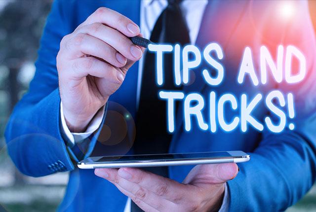 UX  6  Tip&Tricks